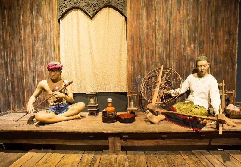 清迈,泰国- 2016年5月8日:城镇Mai's兰纳遗产中心,是一个全新的城市博物馆 免版税库存图片