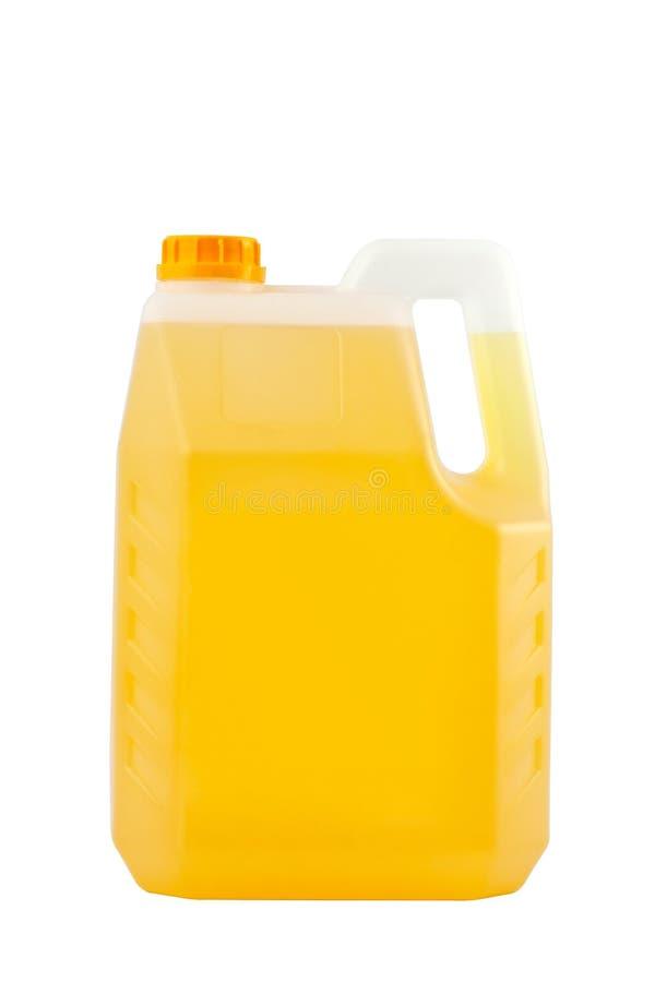 清洁产品 被隔绝的洗涤剂塑料瓶 图库摄影