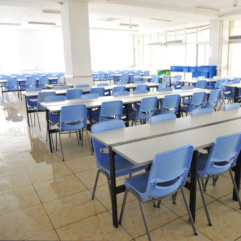 清洗学校食堂 免版税库存图片