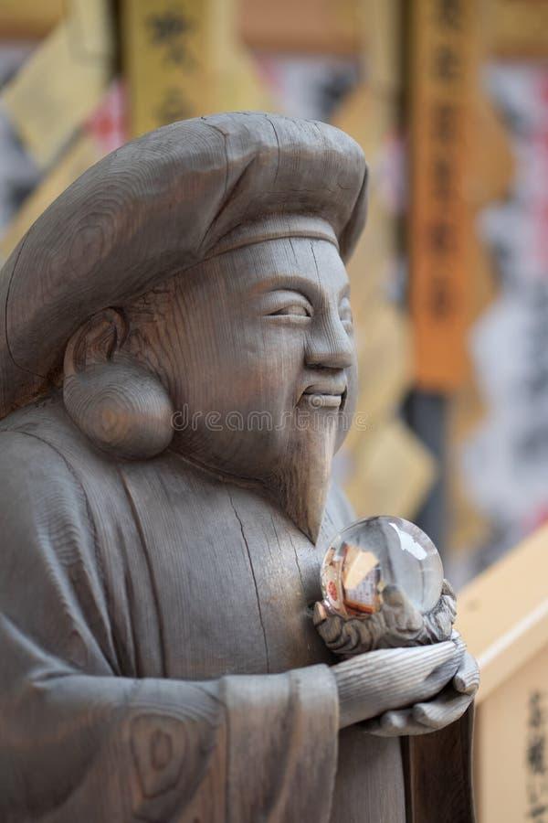 清水寺雕象 库存图片