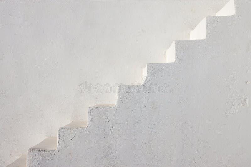 清洗白色台阶 免版税库存照片