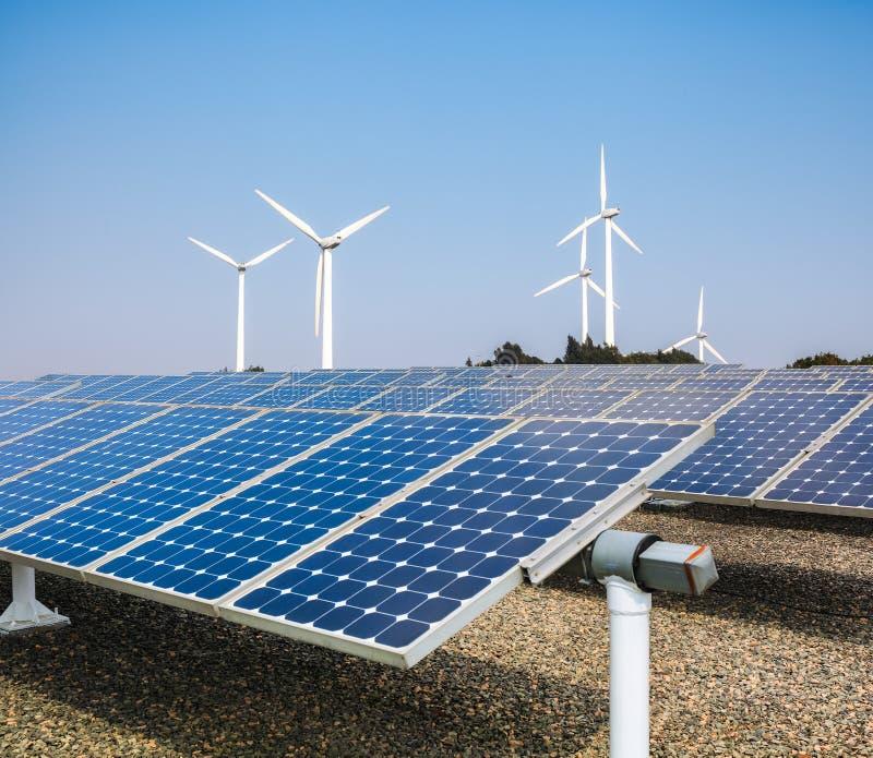 清洁能源背景 图库摄影
