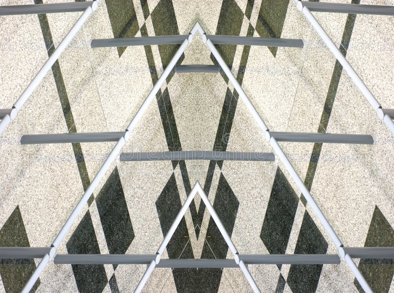 渔三角 免版税库存图片