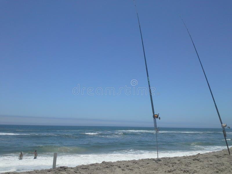 渔假日在纳米比亚 免版税库存照片