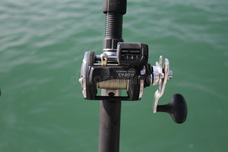 渔卷轴 免版税库存照片