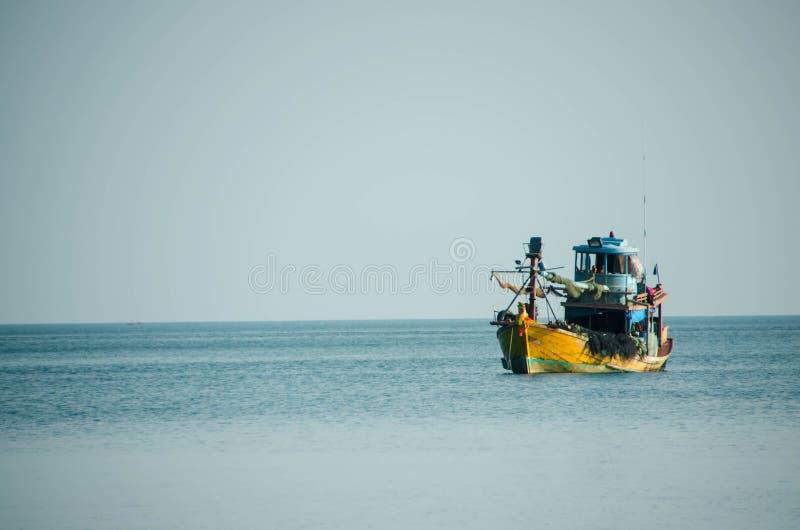 渔场船 库存照片