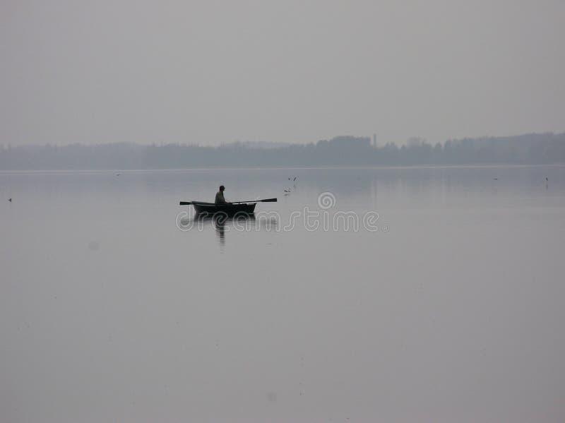 渔夫三 免版税图库摄影