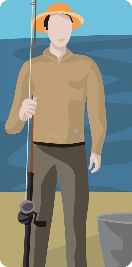 渔夫例证 皇族释放例证