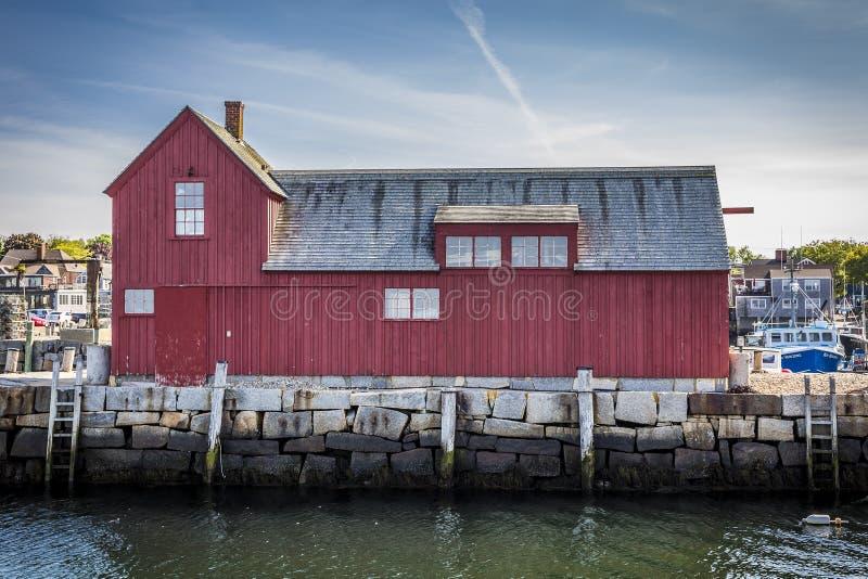 渔夫棚子 库存图片