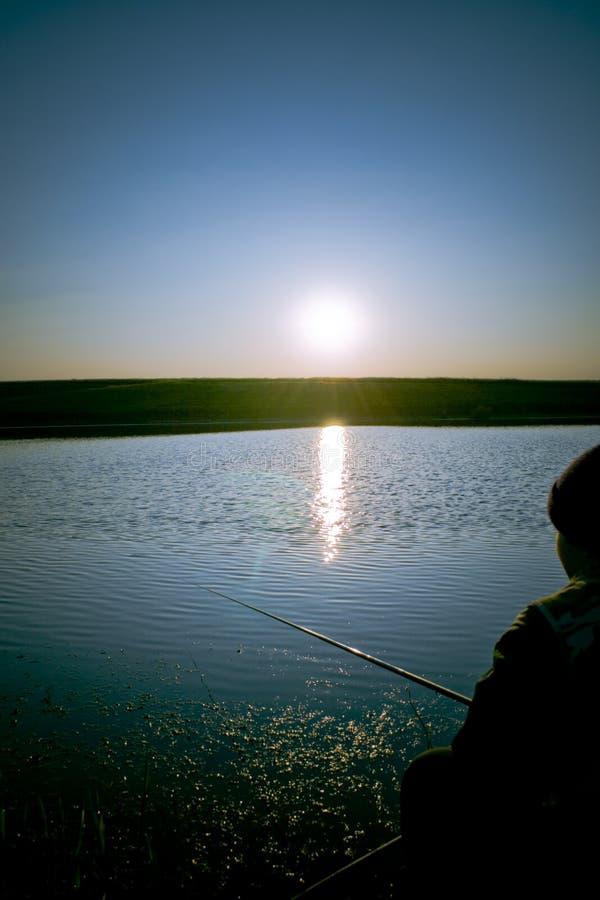 渔夫湖 图库摄影