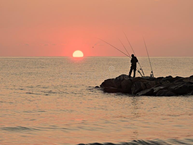 渔夫的生活 库存图片