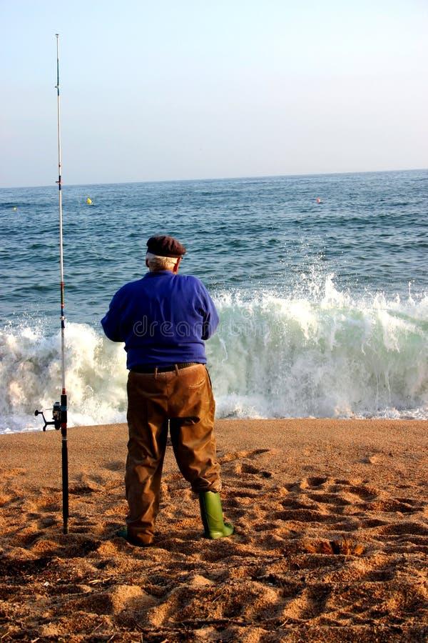 渔夫西班牙语 库存图片