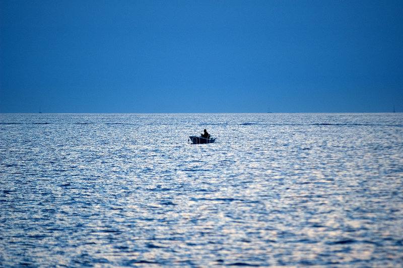 渔夫 库存图片