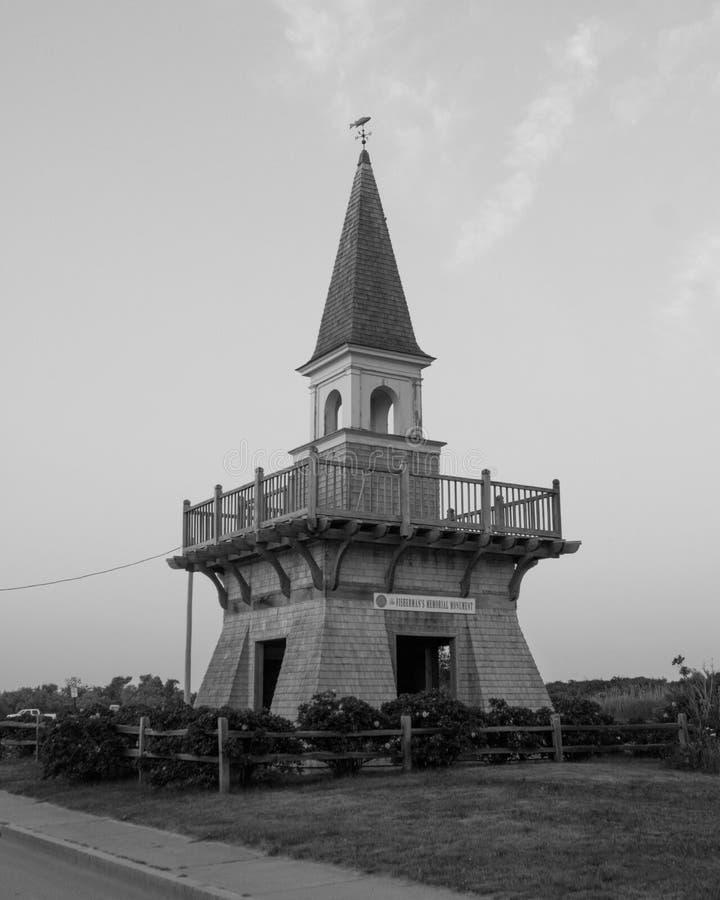 渔夫` s纪念公园在内盖夫加利利, Narragansett, RI 库存照片