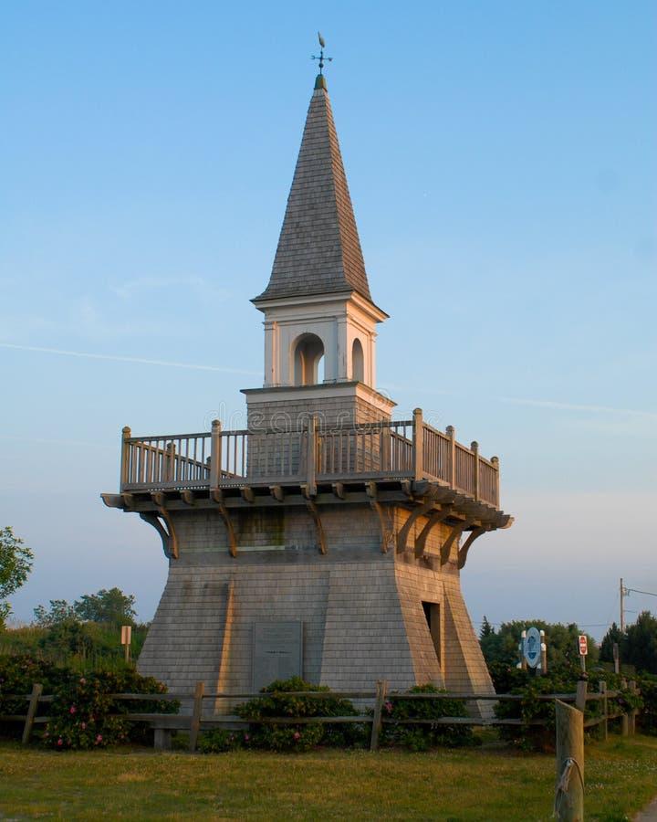 渔夫` s纪念公园在内盖夫加利利, Narragansett, RI 库存图片