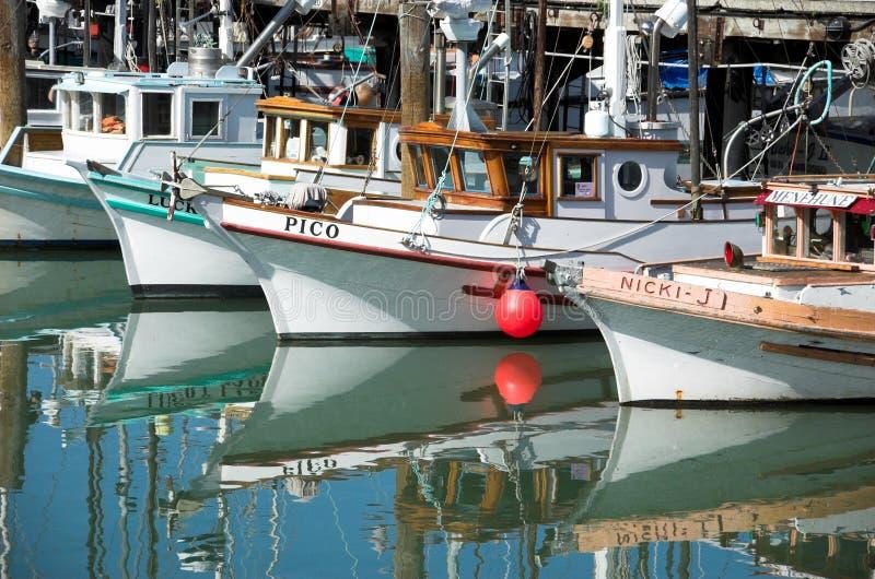 渔夫s码头 库存照片