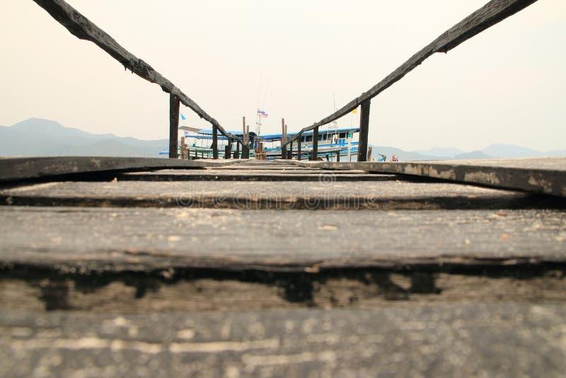 渔小游艇船坞 库存照片