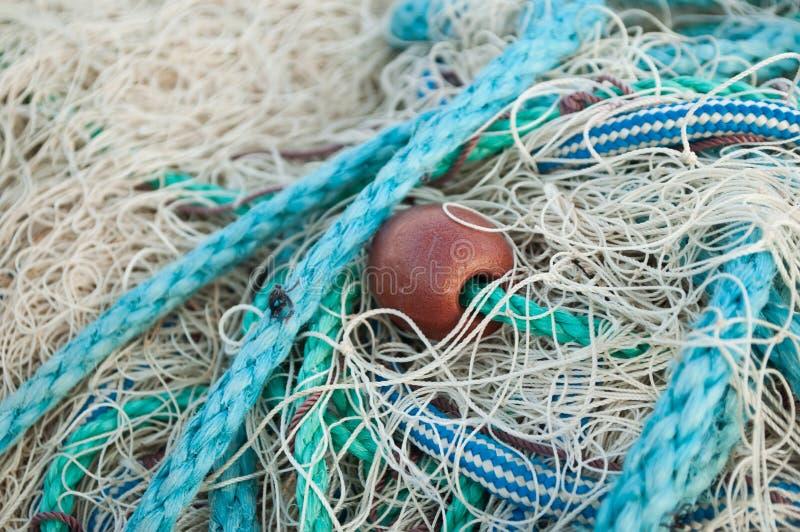 渔网纹理 库存照片
