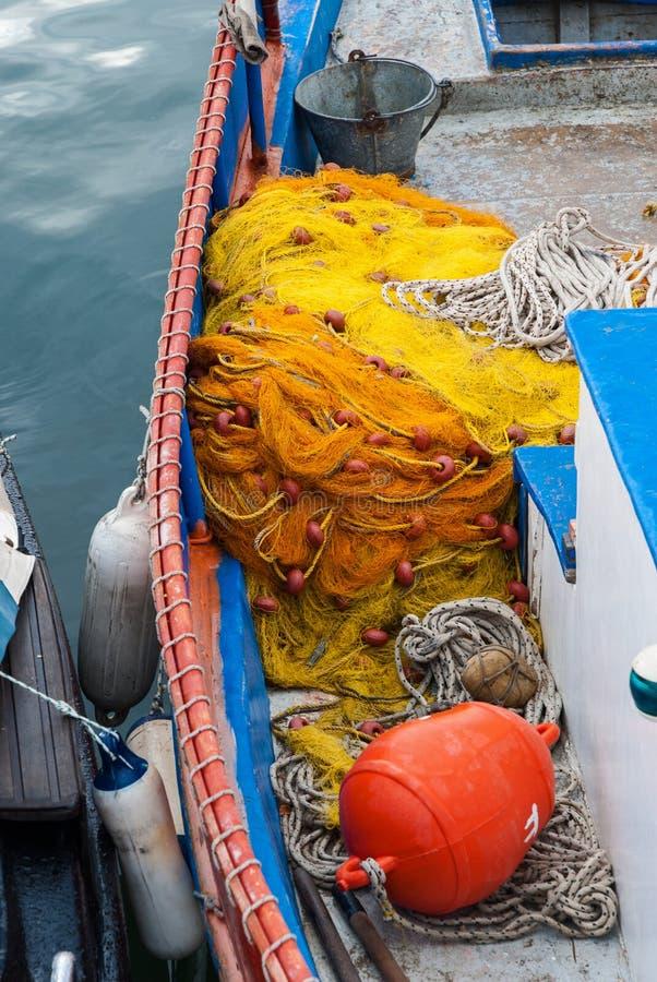 渔船在希腊 免版税库存照片