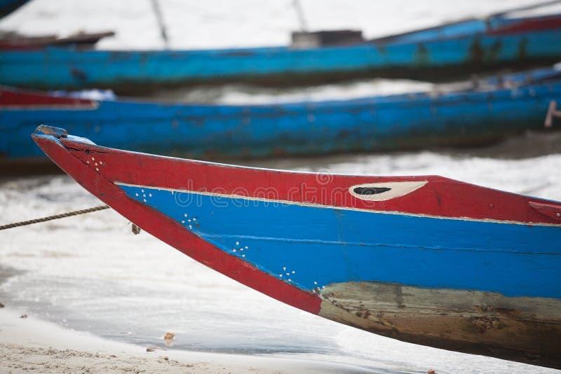渔船越南 库存照片