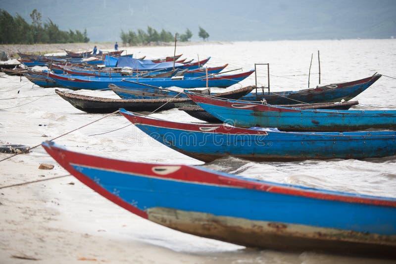 渔船越南 免版税库存图片