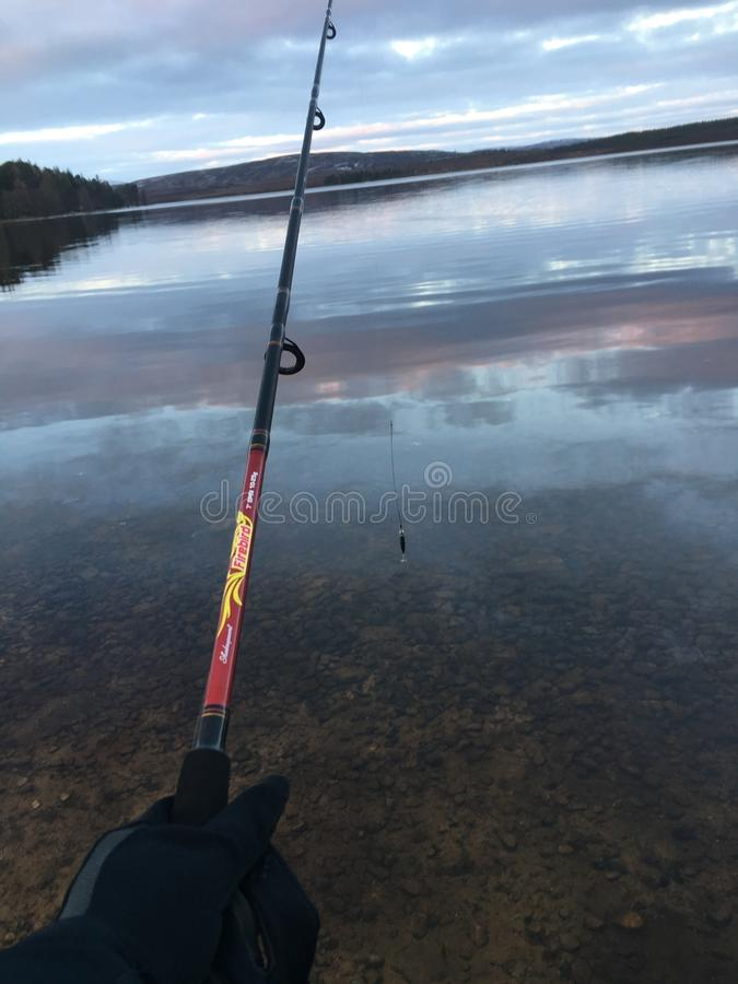 渔苏格兰 库存图片