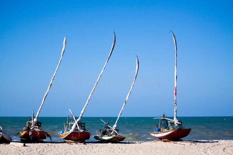 渔风船在巴西 库存图片