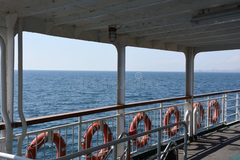 渡轮在亚洛瓦,土耳其 库存图片