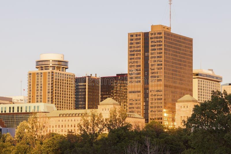 渥太华建筑学  库存照片
