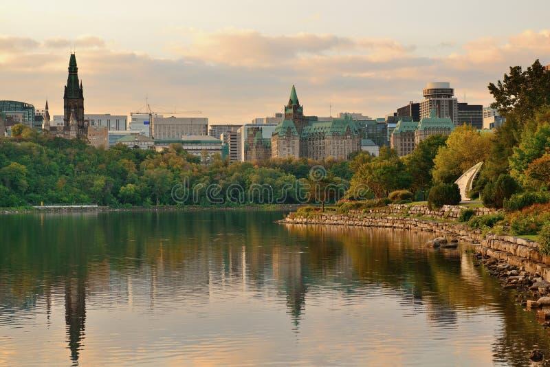 渥太华早晨 免版税图库摄影