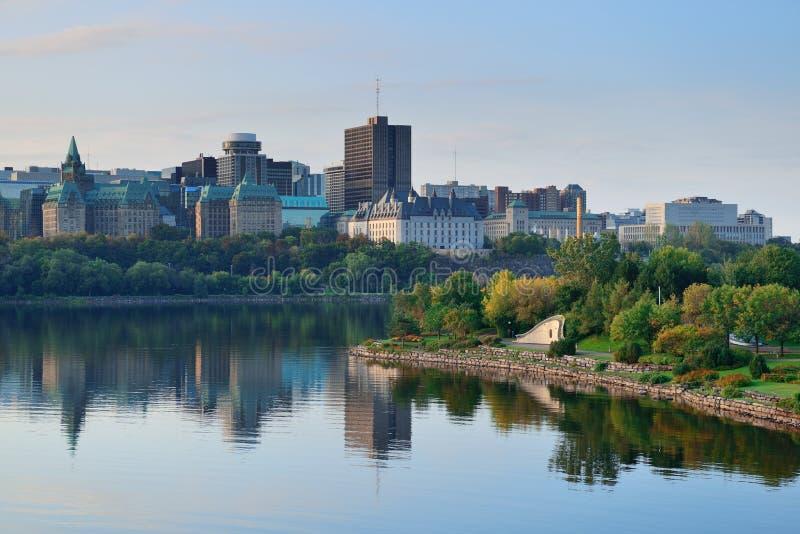 渥太华早晨 免版税库存图片
