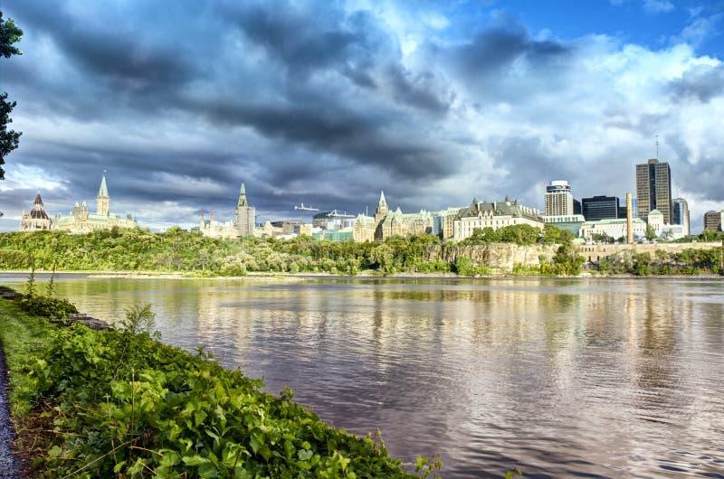 渥太华河 免版税库存图片