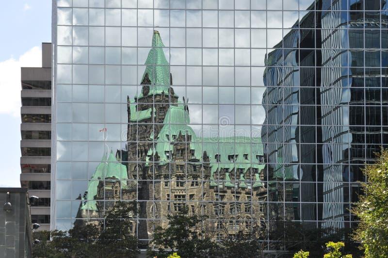 渥太华议会,加拿大 库存照片