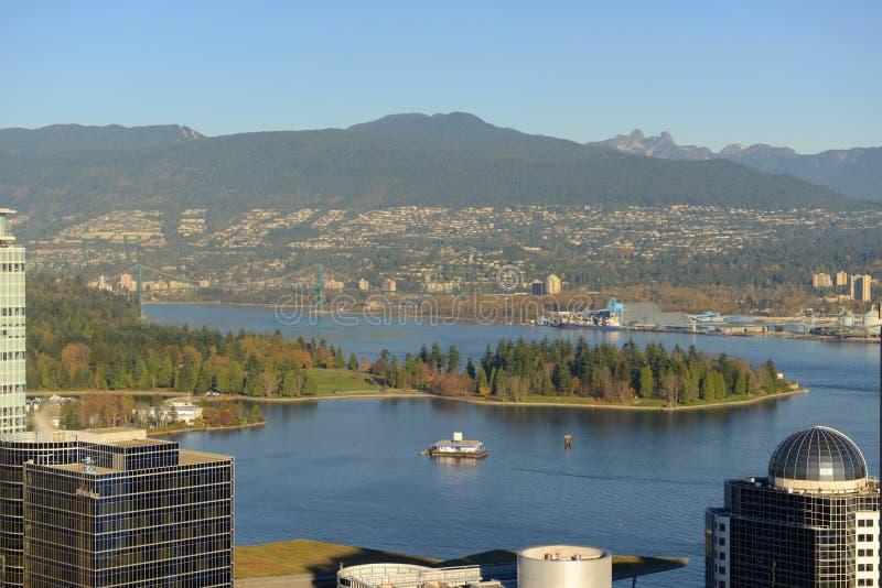 温哥华港口, BC,加拿大 免版税库存照片