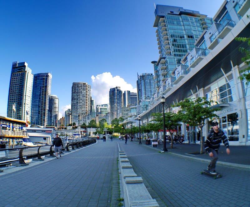 温哥华港口 免版税图库摄影