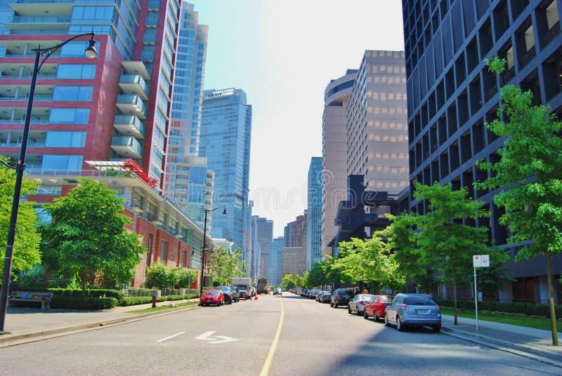 温哥华运输系统 免版税库存照片