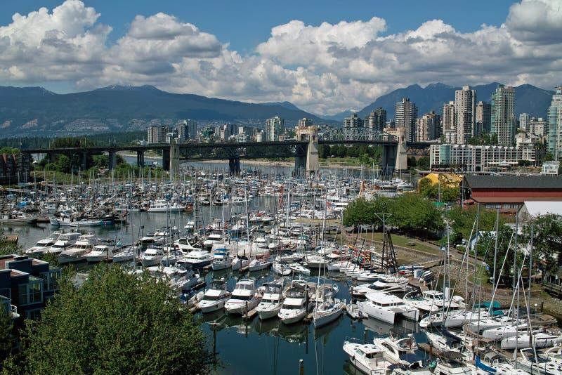 温哥华BC,加拿大 库存图片