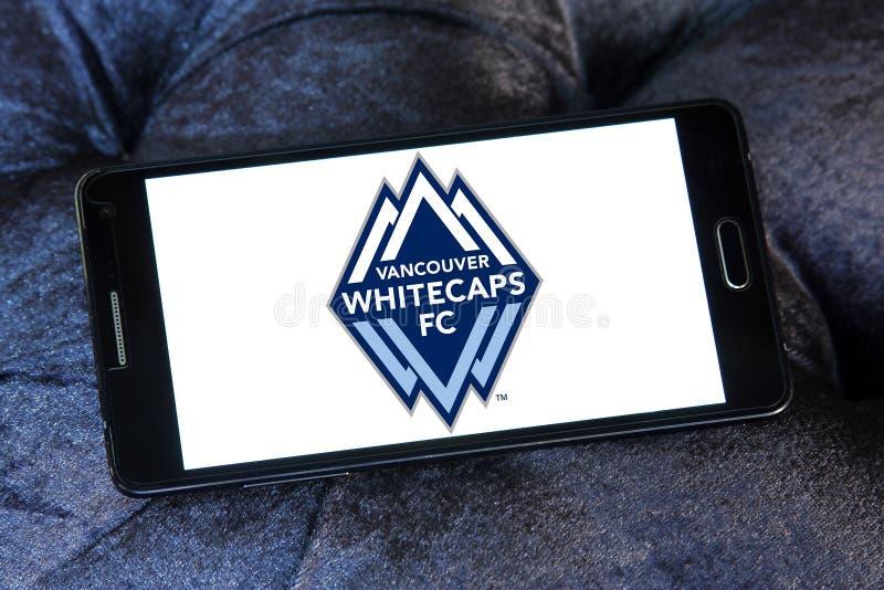 温哥华Whitecaps FC足球俱乐部商标 库存照片
