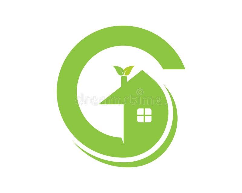 温室商标和标志象app 向量例证