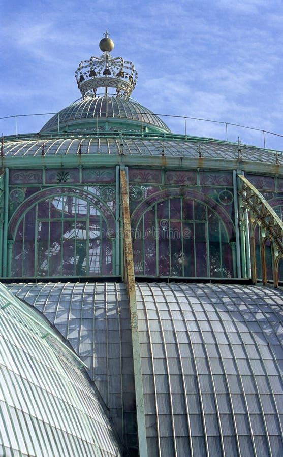 温室皇家的laeken 库存照片