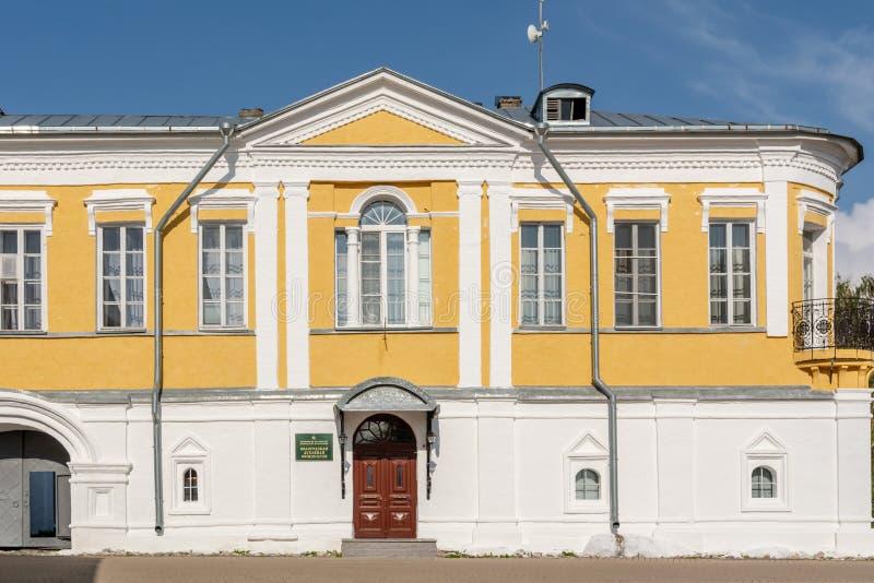 温床的大厦在Spaso-Prilutsky修道院里 免版税库存图片