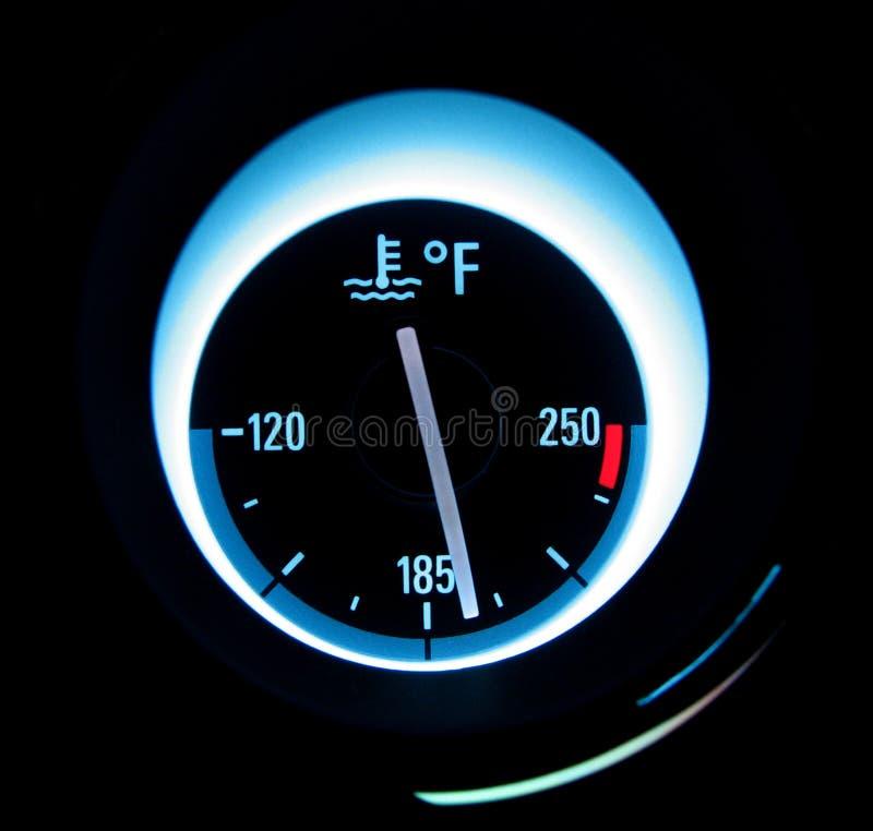 温度测量仪 免版税图库摄影