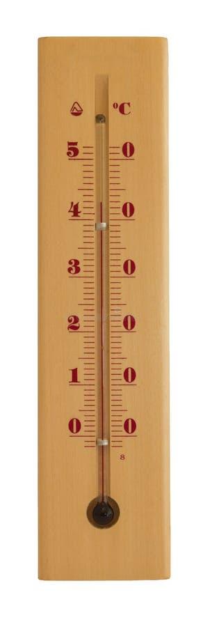 温度计显示高温 库存图片