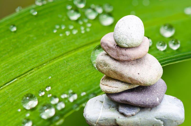 温泉,风水,平衡 免版税库存图片