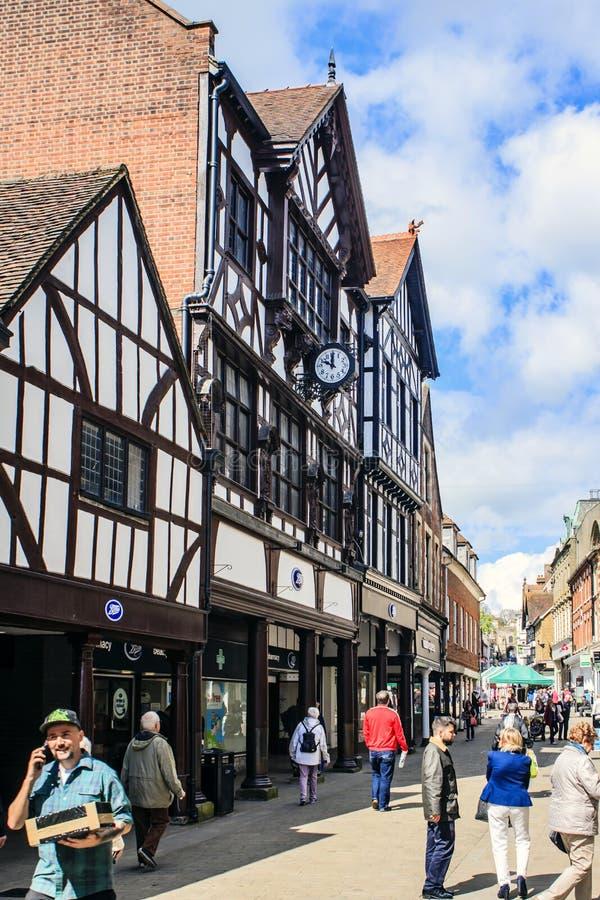 温彻斯特,汉普郡,英国,大英国 库存图片