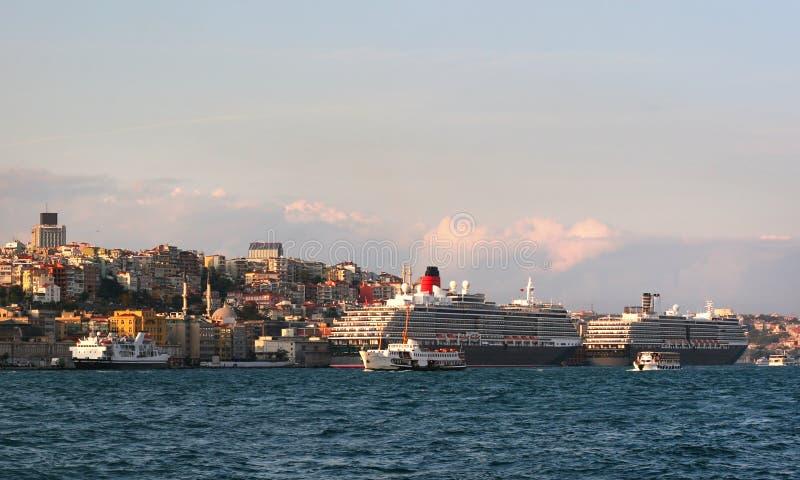 港口伊斯坦布尔 免版税库存照片