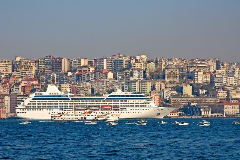 港口伊斯坦布尔 免版税库存图片