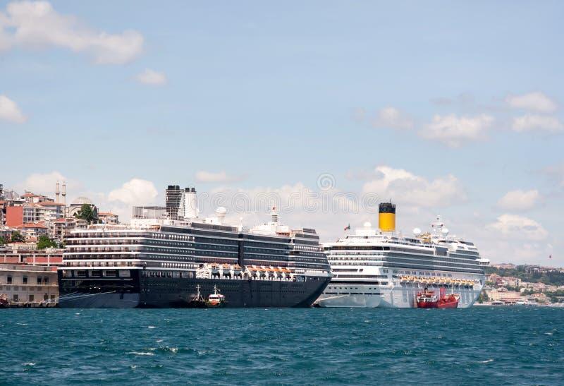 港口伊斯坦布尔 库存图片