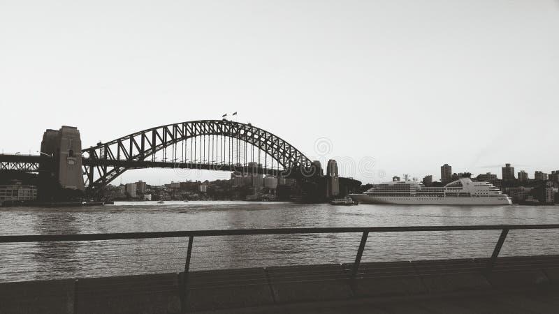 港口桥梁 图库摄影