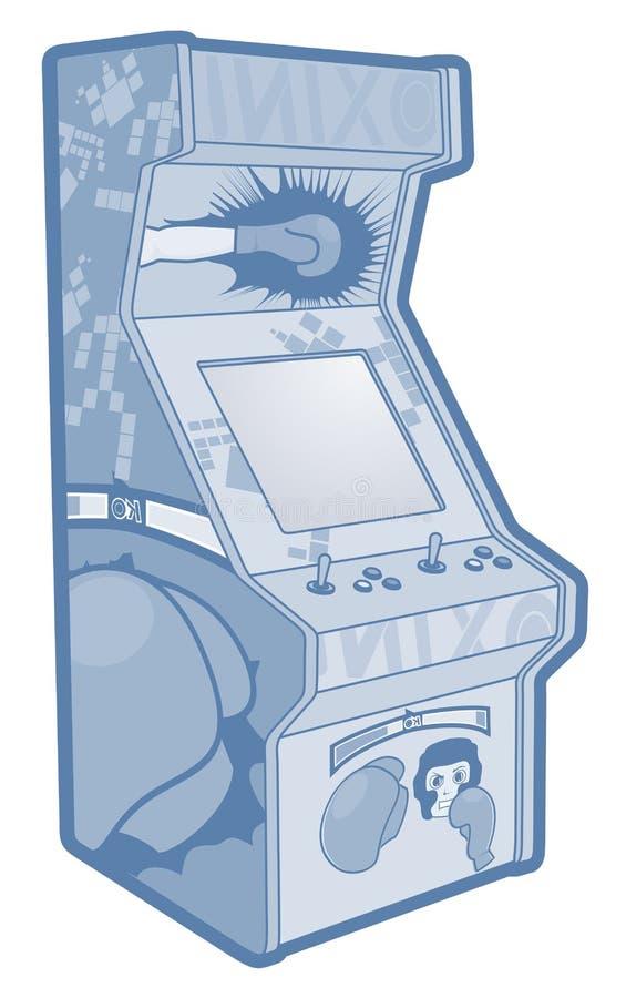 游戏机 向量例证